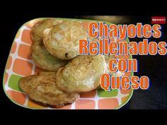 Como Preparar Chayotes Rellenados con Queso | Casayfamiliatv ** Casayfamiliatv.com