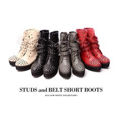 STUDS BOOTS!!