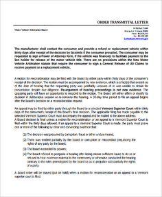 Business Organization Letter Format  Letter Template