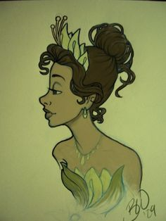 Princess and the Frog- Tiana