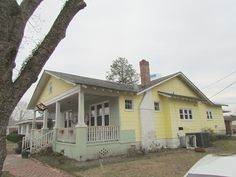 Sale Price: $55,850.00  Flip this house, SO MUCH POTENTIAL, A LOT has already been done. New replacement windows, new appliances, new HVAC, new front door, new storm door, gas logs, fenced-in backyard, Real Authentic 1920s craftsman home. Tall ceilings and large rooms.
