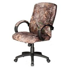 Comfort Products Executive Office Chair - Camouflage - 60-0971CF