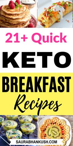 21 Keto Breakfast Recipes On The Go – Keto Breakfast Ideas for Ketogenic Diet - Corrie Izzard Healthy Low Carb Breakfast, Healthy Meals To Cook, Diabetic Breakfast, Diet Breakfast, Healthy Eating, Brunch Recipes, Breakfast Recipes, Breakfast Ideas, Breakfast Casserole