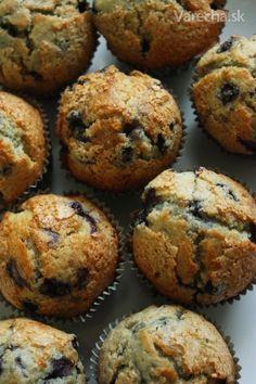 Čučoriedkové muffiny Cooking Recipes, Cupcakes, Breakfast, Basket, Morning Coffee, Cupcake, Cupcake Cakes, Cup Cakes
