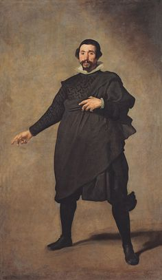 Portrait of Pablo from Valladolid by Diego Velazquez oil on canvas Circa 1635 Spain Madrid Museo del Prado Canvas Art - Diego Velazquez x Spanish Painters, Spanish Artists, Classic Paintings, European Paintings, Caravaggio, Chef D Oeuvre, Oeuvre D'art, Diego Velazquez, Western Art