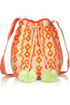 Sophie Anderson Lilla crocheted cotton shoulder bag NET-A-PORTER.COM