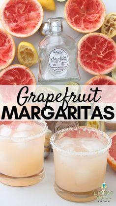Grapefruit Margarita Recipe, Grapefruit Recipes, Margarita Day, Grapefruit Cocktail, Margarita Recipes, Best Pitcher Margarita Recipe, Lemon Vodka, Vodka Lime, Infused Vodka