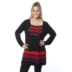 One O One Paris: Cat's Meow Sweater Tunic, only on wildcurves.com!