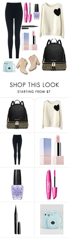 """""""Untitled #204"""" by fadedlipstick on Polyvore featuring MICHAEL Michael Kors, WithChic, Miss Selfridge, Laurence Dacade, Sephora Collection, OPI and Marc Jacobs"""