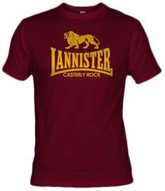Camiseta Lannister Casterly Rock - Fanisetas