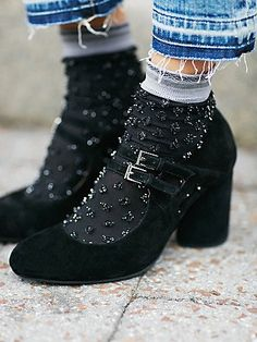 { Glitter Dot Anklet | Textured metallic dot ankle sock. Contrast colored ruffle top. }