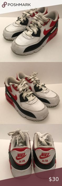 nike AIR MAX COMMAND FLEX LTR GS WHITEGYM RED BLACK bei
