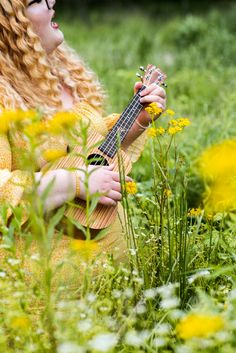 Let your talent shine in your senior pictures! See more from this wildflower portrait session on the blog.  #ukulele #seniorportraits #louisville Senior Pics, Senior Portraits, Senior Pictures, View Image, Ukulele, Tween, Photography Poses, Wild Flowers, Girls