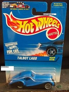 Collections and Lots 73252: Hot Wheels 1997 #714 -1 Talbot Lago Blu Blk Fenders -> BUY IT NOW ONLY: $220 on eBay!