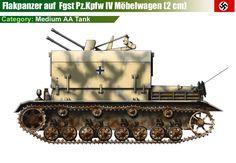 Flakpanzer IV Möbelwagen mit 20 mm Flak