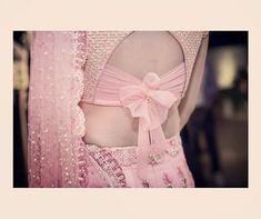 Ideas For Silk Saree Traditional Bridal Blouse Back Neck Blouse Neck Designs Saree Blouse Neck Designs, Fancy Blouse Designs, Saree Blouse Patterns, Latest Blouse Designs, Bow Blouse, Sari Design, Blauj Design, Blouse Lehenga, Ghagra Choli