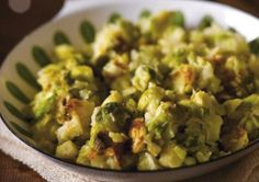 Make use of those Christmas Day sprouts with with easy to make dish