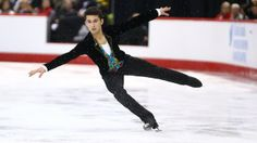 Canada's Liam Firus won bronze at  2014 Nationals-competing in Sochi.