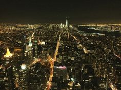 Empire State View at Night