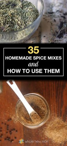 homemade spice mixes #food #yummy #delicious