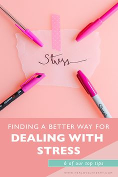 Finding a better way for dealing with stress | Productivity advice | healthy living resources