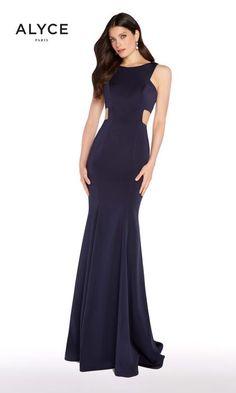 b304eedd496 Alyce Paris Prom Cut Out Prom Dresses