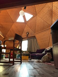 Japanese dome house Source by rockyplotts Lofts, Geodesic Dome Homes, Roof Ceiling, Dome House, Earthship, Round House, Wooden House, House Plans, House Design