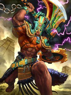 Chaac deus maia da chuvas e tempestades