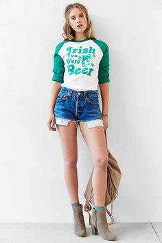 St. Patty's Day Raglan Tee