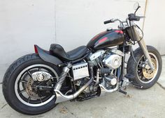 1975 Harley Davidson FX 1200 Shovelhead Bobber Chopper