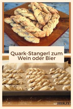 Quark-Stangerl zum Wein oder Bier - Healthy Life Style Tips Good Enough To Eat, Fabulous Foods, Finger Foods, Healthy Life, Clean Eating, Deserts, Brunch, Food And Drink, Cooking Recipes
