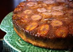 Cooking Dunkin Style: Bananna Upside Down Cake