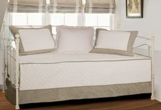 Greenland Home Brentwood Daybed Set, Ivory/Taupe -- Read more reviews of the product by visiting the link on the image.