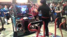 Monty Oum at RTX 2012 - THIS IS THE DDR MASTER RIGHT HERE