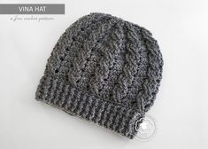 6b448e18bdd Instructions are included below for a messy bun version of this hat. I  chose to crochet ...