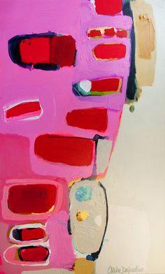 """Saatchi Online Artist: Claire Desjardins; Acrylic, 2012, Painting """"Wit"""""""