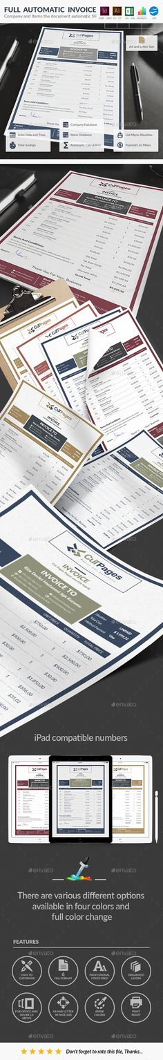 New Creative Invoice Creative and Font logo - online invoice maker free