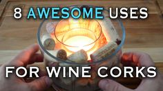 Here are some great ways to utilize those wine corks you might have sitting around. No need to throw them away! Make some awesome projects instead! For $5 of...