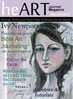 Happy Monday to my lovely followers! I have exciting news to share today. I was just published in heART Journal Magazine! To celebrate, heART Journal Magazine has a given me a free issue bonus code...