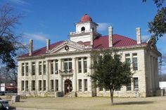 """""""1916 Blanco County Courthouse today Photo courtesy William Beauchamp, June 2009"""""""