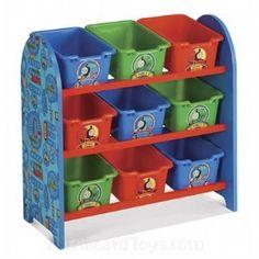 Thomas the Train & Friends 9 Bin Toy Organizer | Shop entertainment | Kaboodle