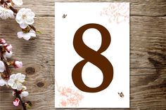 The most beautiful and unique wedding invitations, RSVP cards, and other wedding stationery available in Ireland, the UK and worldwide. Unique Wedding Invitations, Wedding Stationery, Wedding Table Numbers, Cherry Blossom, Rsvp, Symbols, Cards, Table Numbers, Maps