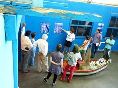 Vista da exposição permanente do Museu da Maré -Rio de Janeiro- Br