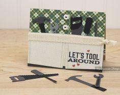 Let's Tool Around, Blueprints 15 Die-namics, Suit and Tie Die-namics, Tool Time Die-namics, Kimberly Crawford #mftstamps