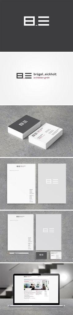 corporate design for Bruegel_Eickholt | #stationary #corporate #design…