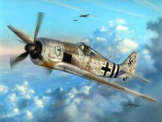 1944 02 Focke Wulf Fw 190A-6 Sturmstaffel 1 Gefreiter G. Vivroux, Dortmund - Stan Hajek - Special Hobby