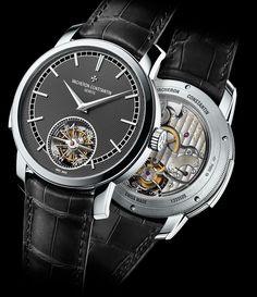 Vacheron Constantin Traditionnelle Minute Repeater Tourbillon Watch - platinum case - Perpetuelle