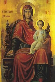 Religious Icons, Religious Art, Church Icon, Blessed Mother Mary, Byzantine Icons, Photography Illustration, Madonna And Child, Fashion Painting, Orthodox Icons
