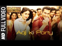 Aaj Ki Party Lyrics from Bajrangi Bhaijaan sung by Mika Singh while composed by Pritam . Aaj Ki Party Lyrics is written by Shabbir Ahmed . Party Lyrics, Party Songs, Dance Video Song, Dance Videos, Hindi Movie Song, Movie Songs, Bollywood Music Videos, Mika Singh, Kabir Khan