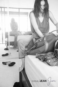 rag & bone: DIY Model Jun Hasegawa